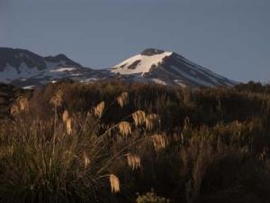 Vulkanen Ruapehu.