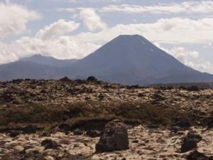 Vulkanen Ngauruhoe.
